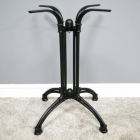 Cast Iron Table Base Finished in Black