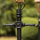 Copper Concordia Lamp Post & Hexagonal Lantern - 2.3m