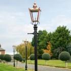 Copper Victorian driveway lighting 3.2m Lamp Posts