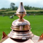 Close-up of the Copper Finial on the Lid of the Lantern