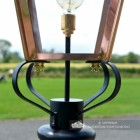 Frog Collar on the Lantern and Brass Fixings