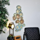 Coral Wall Art in Situ in the Home