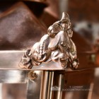 Corner finial on Copper lantern