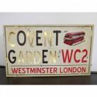 Modern Covent Garden Wall Sign