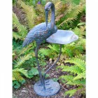 Crane Bird Feeder & Garden Ornament