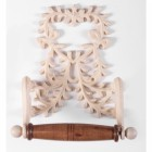 """Juliette"" Rustic Heart design Toilet roll holder"