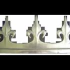 Aluminium Fleur de Lys Cresting (485mm)