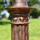 Decorative Detailing on rustic lamp post