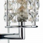 Diamond Design Back Mirrored Wall Light