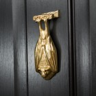Polished Brass Bat Door Knocker