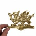 Polished Brass Dragon Door Knocker