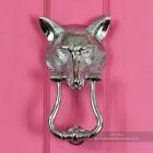 Front View of the Fox Head Door Knocker