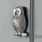 Side View of the Owl Door Knocker