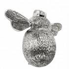 Bright Chrome Bumblebee Door Knocker