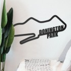 Donington Park Motor Racing Circuit Wall Art in Situ