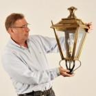 Antique Brass Dorchester Lantern 70cm