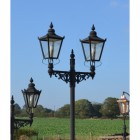 Double Headed Victorian Lamp Post
