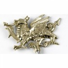 Welsh Dragon Tiller Pin