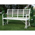 The Brierley Wrought Iron Garden Bench
