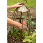 Copper and Glass Bell Cloche