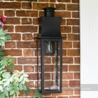 Extra Large Black Modern Wall Light