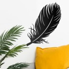 Feather Wall Art in Use in the Home