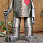 Feet of the Tin Man Garden Sculpture