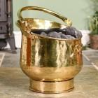 Blenheim Coal Bucket in Brass