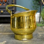 Traditional Coal Bucket Finished in a Polished Brass