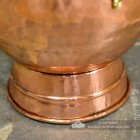 View of the Base of the Copper Coal Bucket