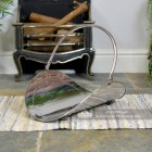 """Evington"" Curved Log Basket  Created From Stainless Steel"