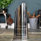 Polished Steel Coal Hod