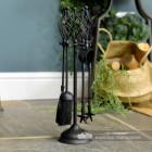 """Kingfisher"" Companion Set with Swirl Design Handles"