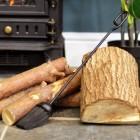 Traditional Black Fireside Brush