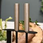 brushed steel handles on brush & pan