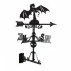 Fire Breathing Dragon Cast Iron Weathervane