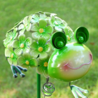 Close-up of the Frog on the Spike Ornament