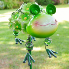 Green Frog Spike Ornament