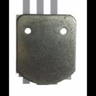 Galvanised Steel Fixing Plate
