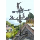Large Rustic Iron Game Season Weathervane