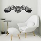 Geometric Barn Owl Wall Art in the Home