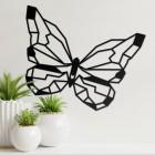 Geometric Butterfly Wall Art in Full