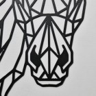 Close up of Geometric Horse Head