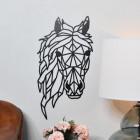Geometric Horse Head Wall Art