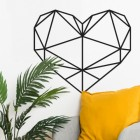 Love Heart in Geometric Form