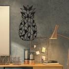 Geometric Steel Pineapple Wall Art in Situ in an Office