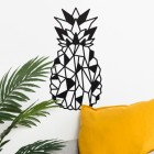 Geometric Steel Pineapple Wall Art in the Home in the Sitting Room