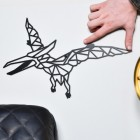 Pterodactyl Wall Art with hand for scale