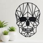 Wall Art of Geometric Skull