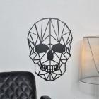 Geometric Skull Wall Art in Situ